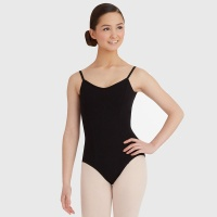 Capezio Adult Princess Camisole Leotard - Black