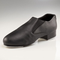 Capezio Adult Riff Slip-On Tap Shoes - Black