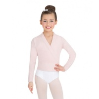 Capezio Childs Long Sleeve Wrap Sweater