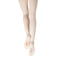 Capezio Mesh Transition Tights with Mock Seam