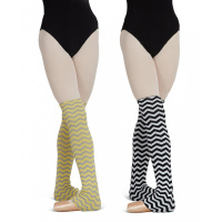 Capezio Multi-Striped Legwarmers