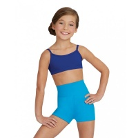 Capezio Girls High Waisted Shorts