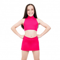 Capezio Childs Mock Neck Top