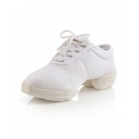 Capezio Adult Canvas Dansneaker - White