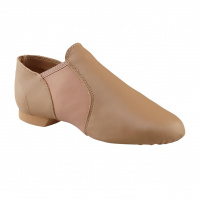 Capezio E-Series Jazz Slip On Jazz Shoes - Caramel