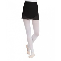 Capezio Georgette Even-Hem Wrap Skirt