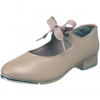 Capezio Childs Jr. Tyette Tap Shoes - Tan