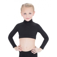 Capezio Childs Turtleneck Long-Sleeve Top