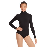 Capezio Adult Turtleneck Long-Sleeve Leotard