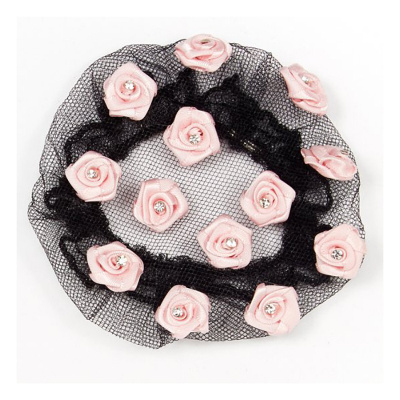 Dasha Satin Roses With Stones Buncover