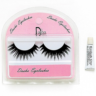 Dasha Full Eyelashes With Glue