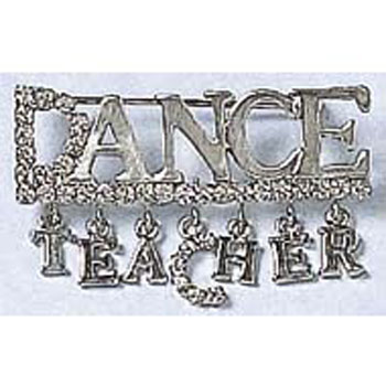 Dasha Dance Teacher Word Pin