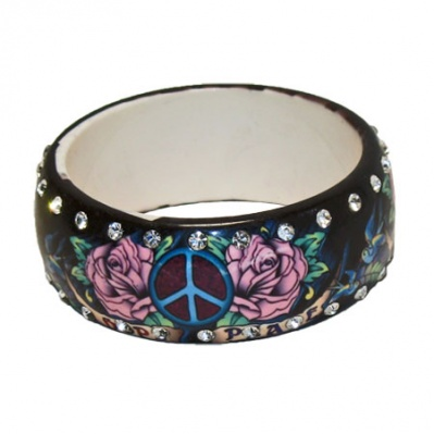 Dasha Tat Art Bangle Bracelet