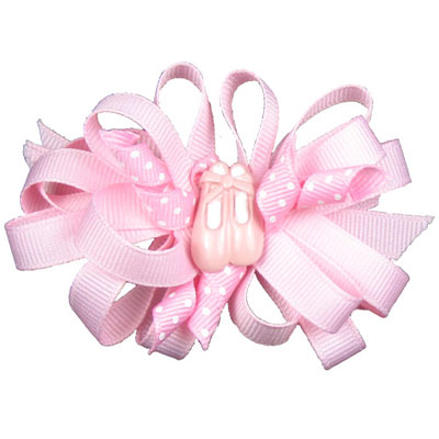 Dasha Grosgrain Bow With Shoes