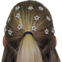Dasha Star Rhinestone Hair Snaps
