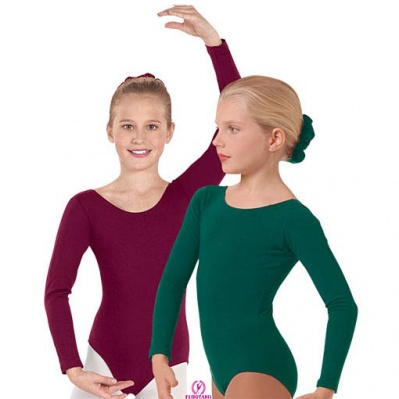 Eurotard Childs Long Sleeve Leotard