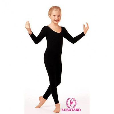 Eurotard Child's Long Sleeve Unitard