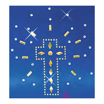 Eurotard Iron-On Shining Cross Applique