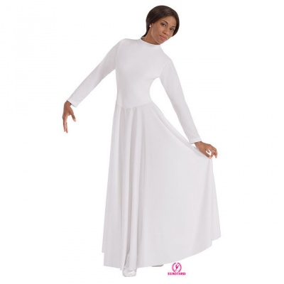 Eurotard High Neck Liturgical Dress