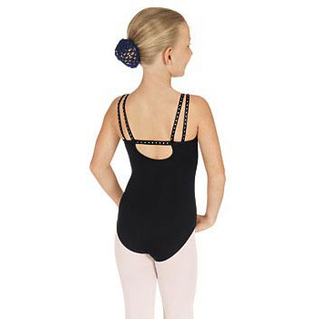 Eurotard Child's Rhinestone Double Strap Leotard
