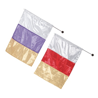 Eurotard Metallic Tricolor Flag