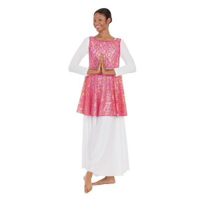 Eurotard Adult Heavenly Laced Tunic