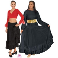 Eurotard Double Ruffle Skirt