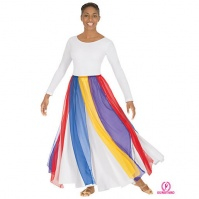 Eurotard Chiffon Streamer Skirt/Top