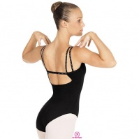 Eurotard Adult Rhinestone Double Strap Leotard