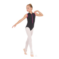 Eurotard Childs Zipper Front Leotard