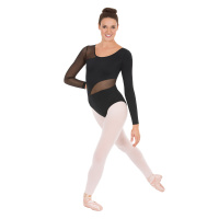 Eurotard Adult Asymmetrical Mesh Leotard