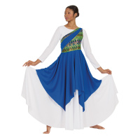 Eurotard Adult Joyful Praise Asymmetrical Tunic