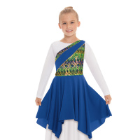 Eurotard Child Joyful Praise Asymmetrical Tunic