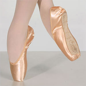 on pointe, with passion