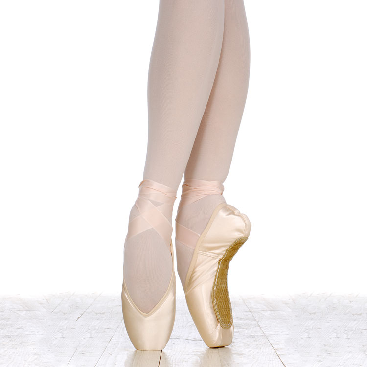 how to break in new pointe shoes
