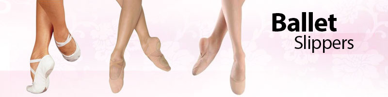 Ballet Slippers from Bloch, Capezio, Grishko, Sansha, So Danca, Russian Pointe