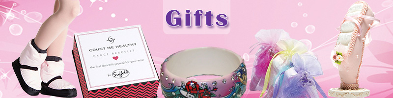 Dance Gifts, Dance Bracelets, and Dance Jewelry