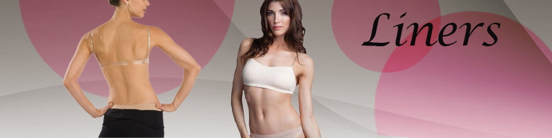Dance Undergarments and Liners from Capezio, Eurotard.