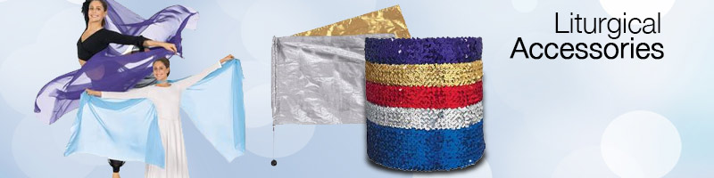 Liturgical Dance Accessories from BodyWrappers and Eurotard