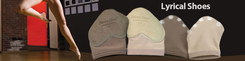 Lyrical Dance Shoes from Capezio, Bloch, Dance Paws.