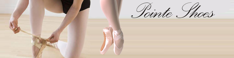Pointe Shoes from Bloch, Capezio, Freed, Grishko, Russian Pointe, So Danca, Suffolk