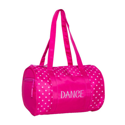 Horizon Dots Duffel Bag - Pink