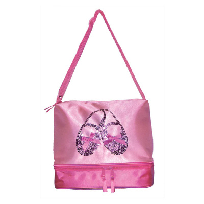 Horizon Satin and Sequins Ballet Shoes Tote Bag