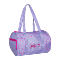 Horizon Dots Duffel Bag - Lavender