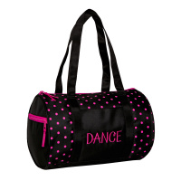 Horizon Dots Duffel Bag - Black