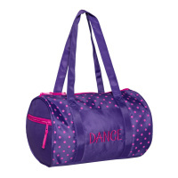 Horizon Dots Duffel Bag - Purple