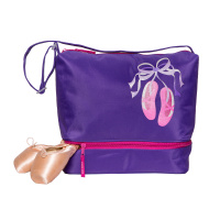 Horizon Giggle Toes Tote Bag - Purple