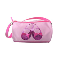 Horizon Satin and Sequins Ballet Shoes Duffel Bag