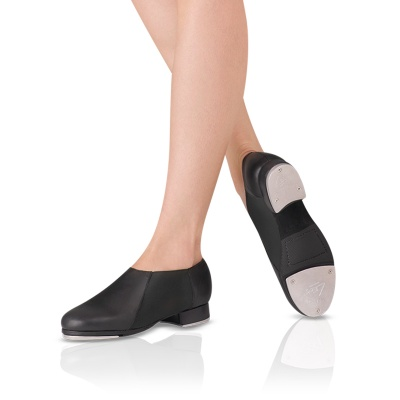 Leo's Ladies Slip-On Jazz Tap Shoe