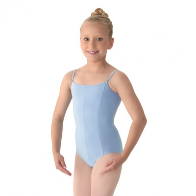 Mirella Girls Seamed Camisole Leotard